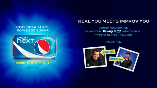 Pepsi NEXT Internet Taste Test