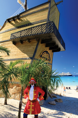 Captain Morgan® on the Rocks Island Bar at Half Moon Cay, Holland America Line's award-winning private island.