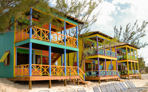 Five new, two-story Beach Villas now available at Holland American Line's award-winning Bahamian island, Half Moon Cay.