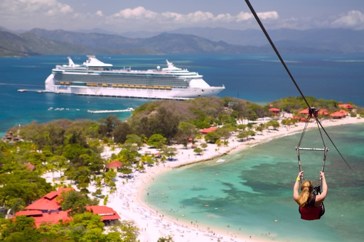 From lounging on the beach to soaring on a zipline, Royal Caribbean's private destination, Labadee, offers it all.