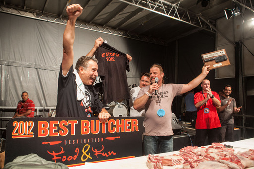 Armand Ferrante wins the 2012 Best Butcher contest