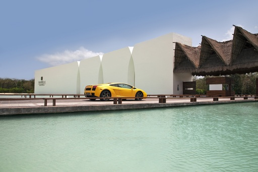 "Drive the car of your dreams, including a Lamborghini Gallardo, with Grand Velas All Suites & Spa Resort's adrenaline-fueled ""Stay & Luxury Drive"" package. Contact Apple Vacations today!"