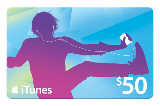 Save $15 on a $50 iTunes gift card (Black Friday only)