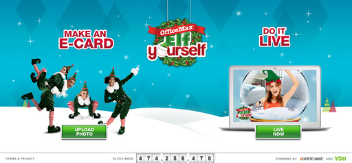 ElfYourself Homepage