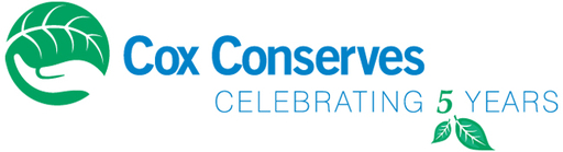 Cox Conserves 5th Anniversary Logo
