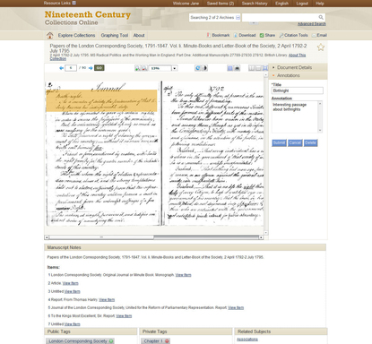 Annotations – demonstrates how users can highlight specific content and capture virtual notes for easy reference.