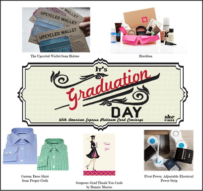 Graduation Gift Ideas from American Express Platinum Card Concierge and Michelle Madhok