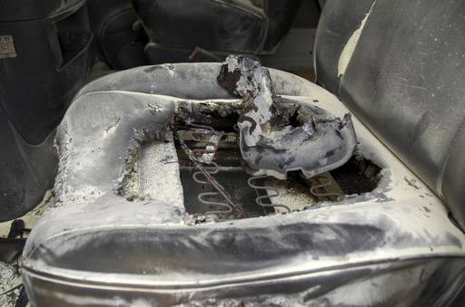 A single wire under the driver's seat ignited and caused more than $8,000 in damage and losses. Many cars are bought and sold every day without anyone knowing they were recalled.