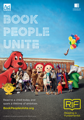Book People Unite Print Ad