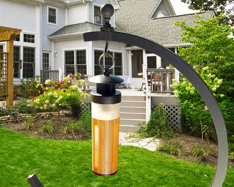 Eat, entertain and enjoy your backyard this summer with the Black FlagTM Flying Insect Trap and Lure.