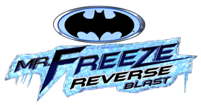 Mr. Freeze Reverse Blast logo