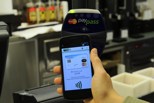 PayPass Wallet Services NFC/POS solution