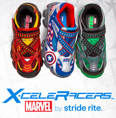 X-celeRacers by Stride Rite Marvel Collection