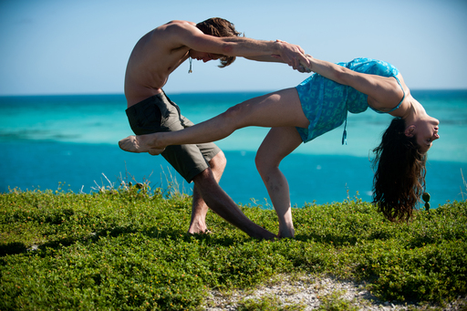 Parsons Dance on-site in Dry Tortugas National Park for Wolf Trap's Face of America: Spirit of South Florida. Photo Credit: Andrew Propp