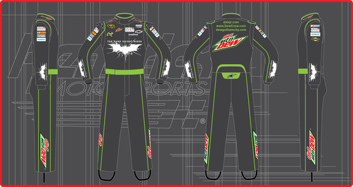 Dale Earnhardt Jr. / DEW The Dark Knight Rises Firesuit