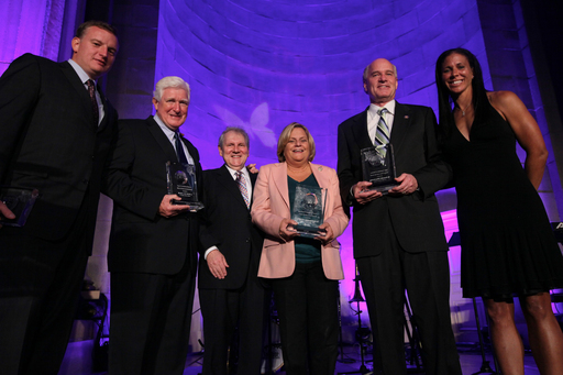 U.S. House of Representatives Congressional Lupus Caucus Co-Chairs were presented with the National Policy Leadership Award during the ninth annual Lupus Foundation of America's National Butterfly Gala.