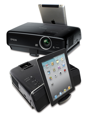 Epson MegaPlex™ MG-850HD 720p projector offers portable projection plus powerful audio from a variety of media devices for big screen entertainment virtually anywhere.