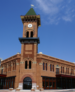 Grapevine's Cotton Belt Hotel Clock Tower