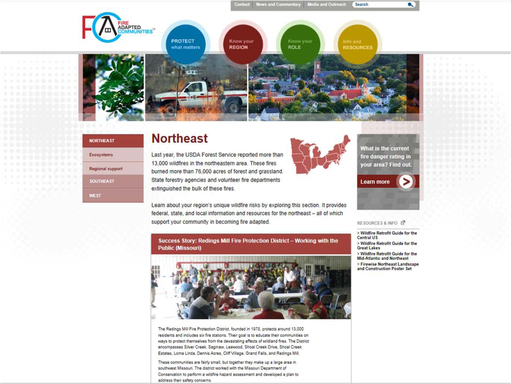FireAdapted.org Northeast