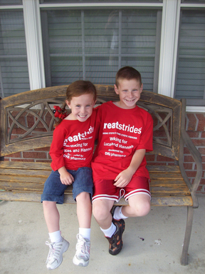 Hannah & Lucas Fox of Indianapolis, Ind., have Cystic Fibrosis. Their mother, Brenda Fox, is co-chair of the 2012 CVS/pharmacy Advancing Medical Research Campaign to support ALS & Cystic Fibrosis.