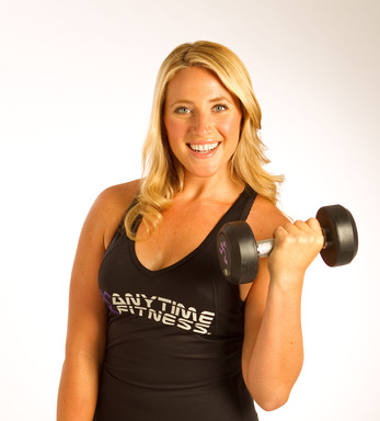 "Tara Costa, Anytime Fitness member and former ""Biggest Loser"" contestant"