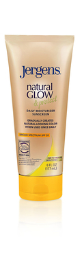Jergens Natural Glow & Protect Daily Moisturizer with SPF 20 in Fair to Medium