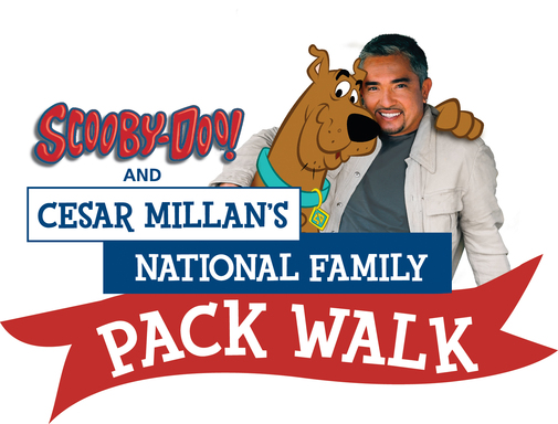 Scooby-Doo and Cesar Millan team up for 2nd Annual National Family Pack Walk