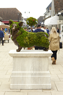 Bicester Village Chic Summer Topiary