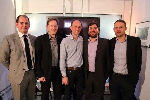 (L-R) Andy Bowman - PR Newswire, Adrian Barrick - UBM Built Environment, Jonathan Fildes - BBC Future at BBC Worldwide, Matthew Whalley - Edelman, Paul Wooding - Red