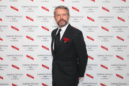 French actor Lambert Wilson at the G.H.MUMM Ball