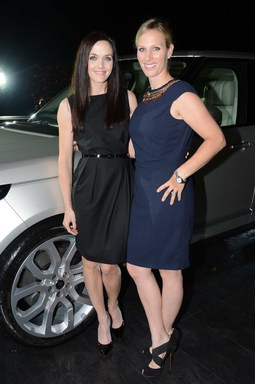 Victoria Pendleton and Zara Phillips Launch of the All-New Range Rover