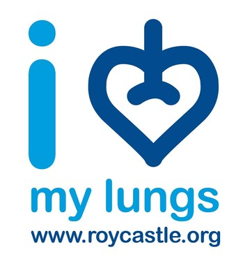 'I Love My Lungs' Logo