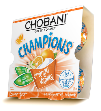 Chobani Champions Orange Vanilla