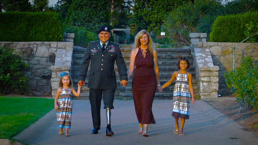 Major Ed Pulido, an American hero, has two children who are Folds of Honor scholarship recipients.