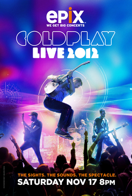 EPIX, Coldplay Live 2012 Tour