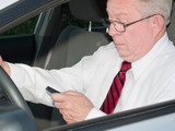 More drivers of all ages report owning smart phones.  Using the internet while driving has nearly doubled in five years.