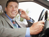 57% of drivers report using a hand-held cell phone while driving.