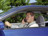 Younger drivers are more likely than older drivers to talk on a cell phone while driving - 77%.