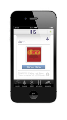 Lowe's Iris mobile app screen