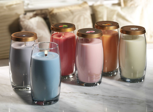 Six new Pure Radiance™ fragrances by Yankee Candle