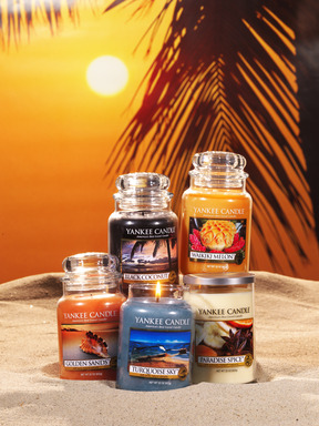 Five new fragrances from Yankee Candle, inspired by the warmth of the tropics