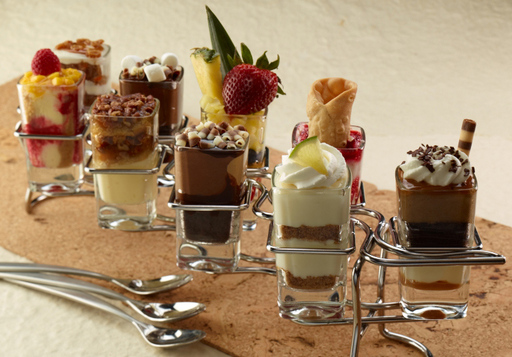Mini Indulgences — Seasons 52, creator and founder of the award-winning Mini Indulgences, offers individual servings of nine classic desserts ranging from Key Lime Pie and Old Fashioned Carrot Cake, to Rocky Road and Pecan Pie.