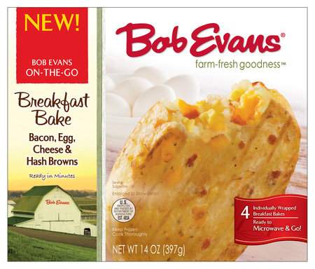 Bob Evans Bacon, Egg and Cheese Breakfast Bakes are made with only the best ingredients and they're baked, not fried.