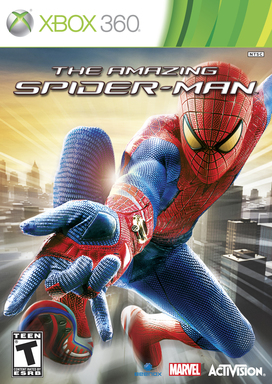 The Amazing Spider-Man Video Game Box Art