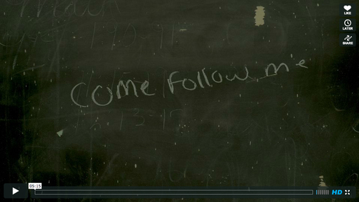 """Come Follow Me"" by Devon Dresback, Pro Short-Film Category Winner, G-Technology Driven Creativity Competition. A teacher inspires her students with a lesson close to her heart."