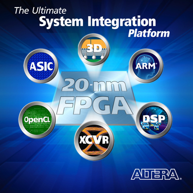 Altera's Ultimate System Integration Platform