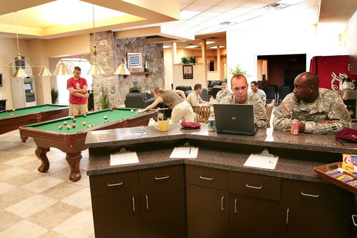 USO Centers provide troops serving in combat and their families with a touch of home and ways to stay connected during lengthy deployments.