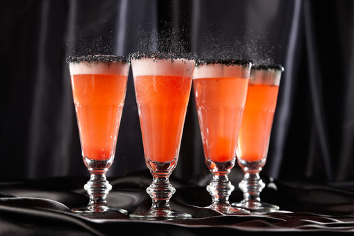 Orange Hocus Pocus Fizz