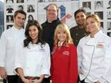 McCormick Executive Chef Kevan Vetter joins celebrity chefs Alex Stupak, Claire Robinson, Kelsey Nixon, Suvir Saran and Donatella Arpaia to celebrate McCormick's 125th anniversary and launch McCormick's Flavor of Together program, Dec. 3.