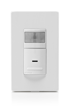 Available in  Automatic-ON or Manual-ON switching, Leviton's energy-saving sensors are available in models engineered to control current LED, CFL, fluorescent, incandescent, halogen or motor loads.